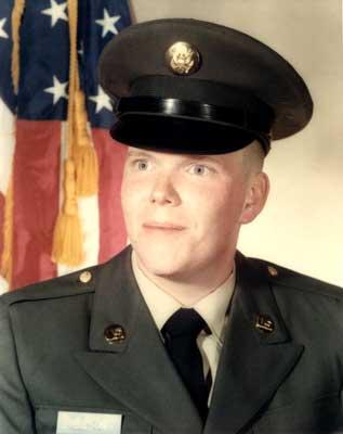 Vic in uniform