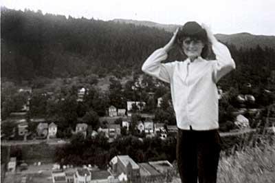 Debbie in the Black Hills