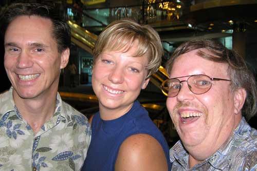 Jerry Crolius, Kristi Leeper, and Vic Bilson