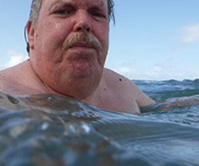 Swimming at Luquillo Puerto Rico