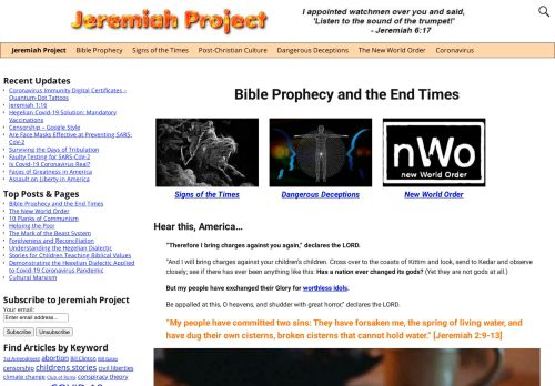 Jeremiah Project