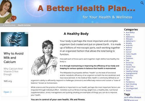 A Better Health Plan