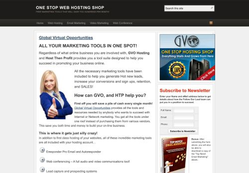One Stop Web Hosting