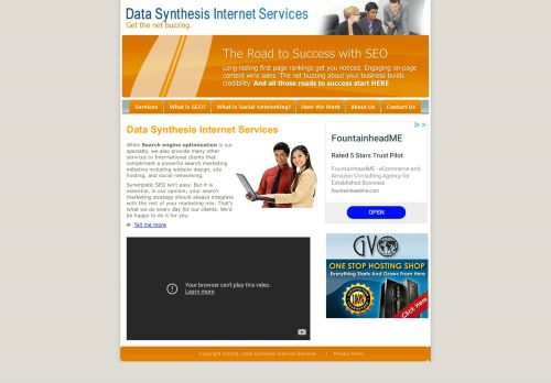 Data Synthesis Internet Services