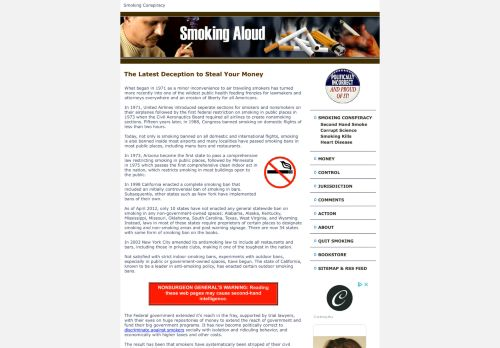 Smoking Aloud