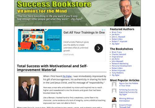 Success Bookstore w Zig Ziglar