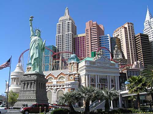 New York New York Rollercoaste